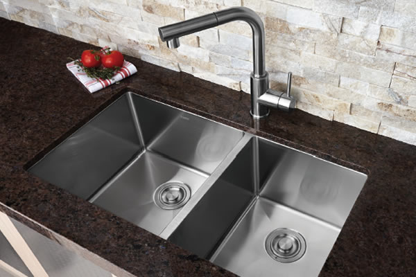undermount kitchen sink granite kitchen sinks bosco 6588